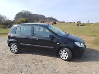 Hyundai Getz 2008 Black MOT Aug 2017 Good Runner 1 Owner Since New, Selling As Buying A Newer Car