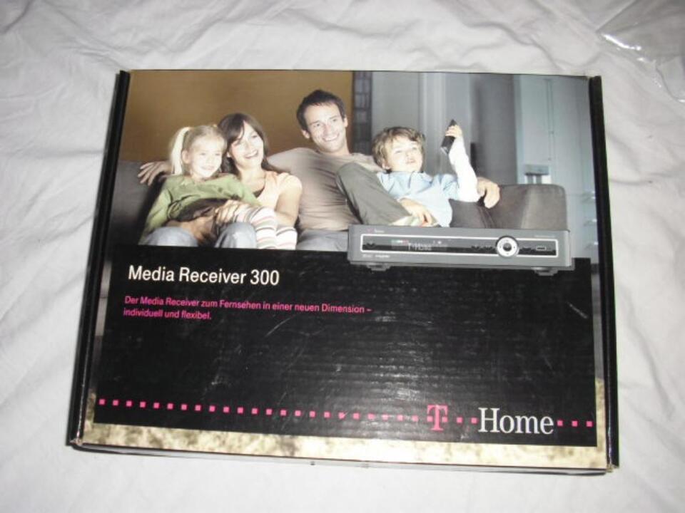 Media Receiver 300 T Home IPTV HD Recorder 160GB Entertain Neu in Kiel - Kronshagen