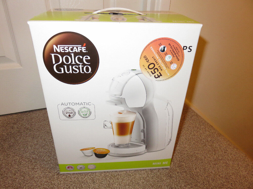 Brand New Dolce Gusto Mini Me Coffee Maker Less Than Half