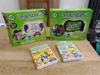 Leapster2 Kids game consuls + games