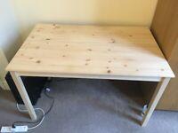 INGO pine table from IKEA