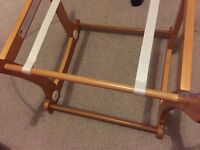 Mothercare moses basket base like new plus extras