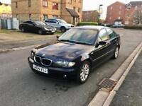 2004 BMW 320D AUTOMATIC – 4 DOORS, DIESEL, AUTOMATIC, LONG MOT, ALLOYS, BLUE, EXCELLENT CONDITION