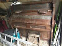 Upright Harmonium / Reed Organ / Pump Organ - FREE, in need of restoration, collection only.