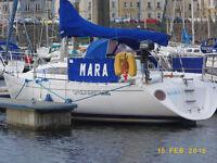 30 foot yacht