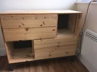 IKEA (Nornas) pine chest of drawers