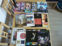 GUITAR TAB BOOKS-STEREOPHONICS-MUSE-FOO FIGHTERS RADIOHEAD-KULA SHAKER-SCORPIONS- RHCP- VARIOUS