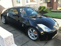 Nissan 350z *LOW MILES* Black and Orange.