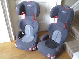 Pair of identical Graco car seats