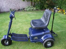 Patterson Trio Single Seat Golf Buggy. two speed, twin motor/gearbox and electro/mecanicaly braked