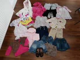 Girls clothes ages 6-12 months. Jasper conran, Next and Zara