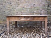 STRIPPED PINE COFFEE TABLE