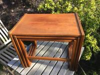1960s Nest of 3 Side Tables