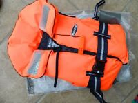 Kid's / Child's Baltic 100N Lifejacket 15-30Kg. Excellent, almost new condition.