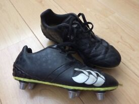 Kids Canterbury rugby boots