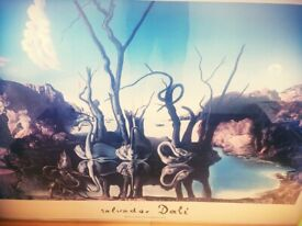 Beautiful Salvador Dali Picture for sale in West Calder