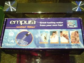 EMPURA WATER FILTER KIT UNUSED AND BOXED