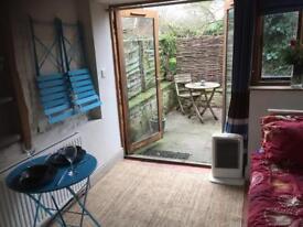 Small studio room