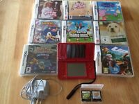 Nintendo DSi with 10 Games