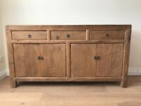 Rustic pine sideboard in excellent condition