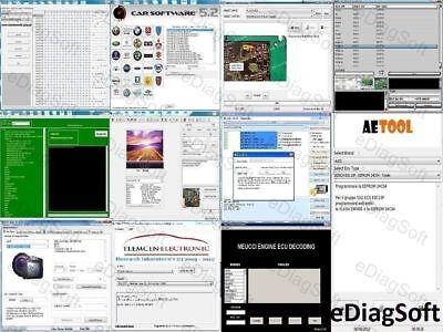 10X Software Mega Pack Dpf Fap Off Egr Off Remove Reset Delete Erase Ecu Unit