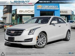2017 Cadillac ATS AWD/Nav/Roof/2.0L Turbo Luxury
