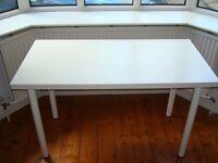 Ikea desk in excellent condition 120cm wide