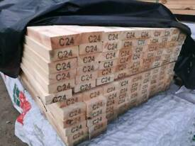 Graded C24 Timber