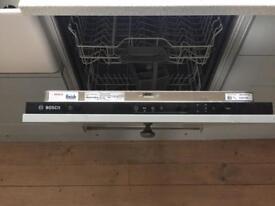 Bosch intergrated dishwasher