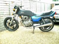 HONDA CB 250 N Superdream Deluxe. Classic 1982 bike with just 29,145 miles from new