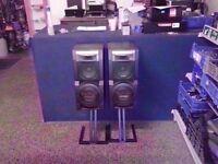 SONY SS- LX5 MAIN SPEAKERS (3 WAY) 160 WATT