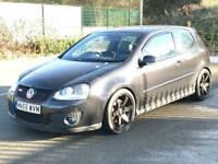 2005 (Nov 55) VOLKSWAGEN GOLF 2.0 GTI - 3 Door - AUTO - Petrol - BLACK *380BHP REMAP/ENGINE REBUILD
