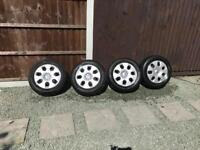 Vauxhall Steel wheels with trims