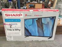 "48"" Sharp LED TV For Parts and Repairs"