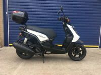 2011 YAMAHA BWS 125cc SCOOTER , HPI CLEAR , LOW MILES , CLEAN BIKE , LONG MOT , FULL SERVICE HISTORY