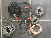 Speaker brackets and cables