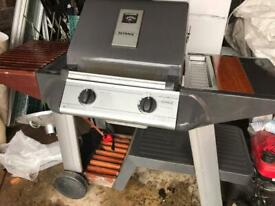 Outback double burner gas bbq.