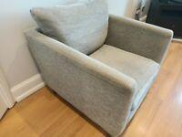 M&S Grey armchair