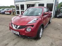 NISSAN JUKE - RK64BYA - DIRECT FROM INS CO