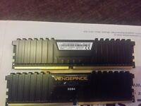 Corsair CMK16GX4M2A2400C14 Vengeance LPX 16 GB (2 x 8 GB) DDR4 2400 MHz