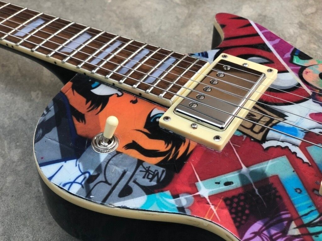 Custom Gibson Les Paul Burstbucker Pickups Jimmy Page Wiring In A