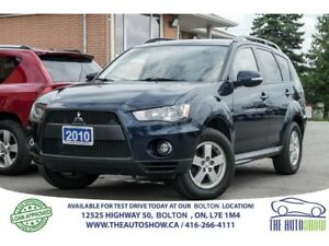 2010 Mitsubishi Outlander 7 SEAT AWD V6 REMOTE START CERTIFIED A