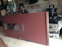 Exterior Door plus Frame and Side Panel