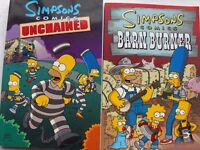 Assorted Simpsons comics