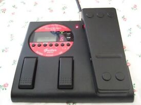 Korg AX1G Electric Guitar Effects Pedal :- Distortion Chorus Delay Wah Reverb Tuner etc