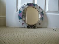 NEW!! Small Round Table Mirror (still in packaging)