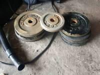 42.5kg steel weights