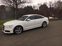 2012/12 Audi A6 S-Line 2.0 TDI✅ CVT✅8Speed automatic in white HPI CLEAR