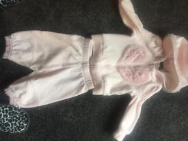 Various baby girl designer clothes