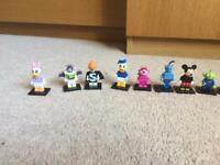 Disney lego series 1 mini figures full set RARE